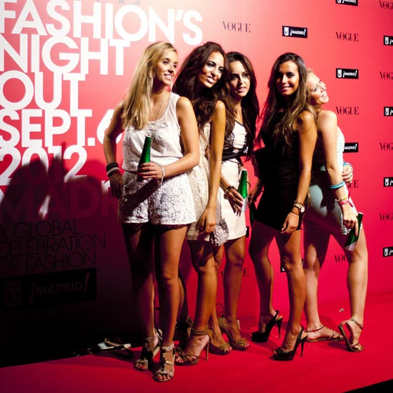 vogue fashion night out madrid 2012