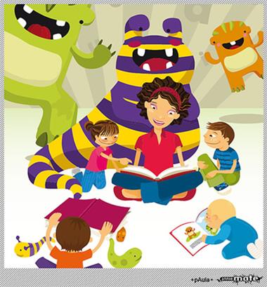 Maestra Nora de Bárcenas CMP: Importancia de la lectura
