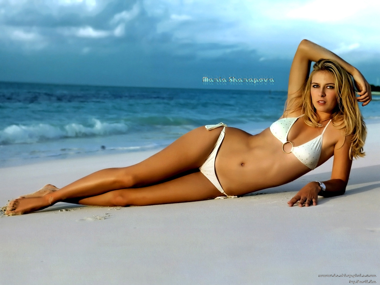 Tennis Beauty Maria Sharapova Hot Desktop Wallpaper 1920x1080