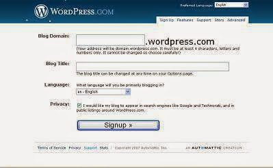 Make a WordPress Blog