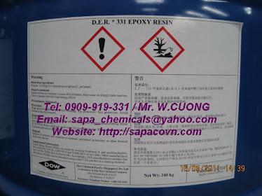 DER 331 / epoxy resin / nhựa cách điện