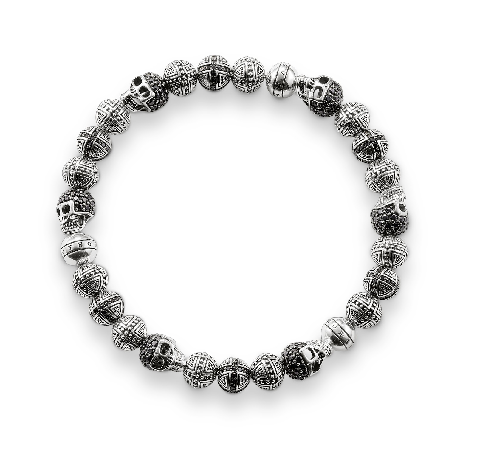 You Need To Be A Rebel With Cash For This Skull Bracelet Avilable At Price  £719