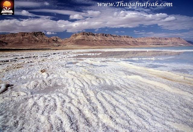 dead sea salt crystals 12%5B2%5D تكوينات غريبة للملح في البحر الميت