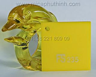 Mica màu vàng chùa FS 235
