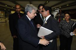 Grande Amizade de Liderança RJ Com Min. da Prev. Garibaldi Alves