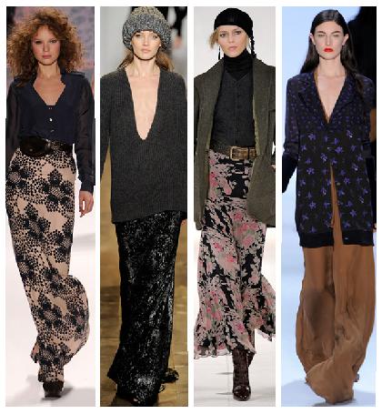 2013 İlkbahar Yaz Uzun Etek Modelleri