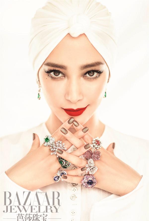Li BingBing Harper's Bazaar Jewelry, Li BingBing by Chen Man