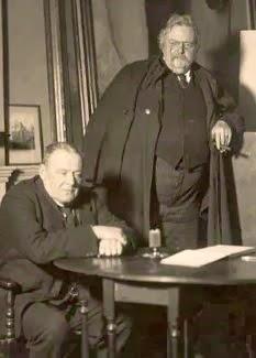 Hilaire Belloc  ✝  G. K. Chesterton