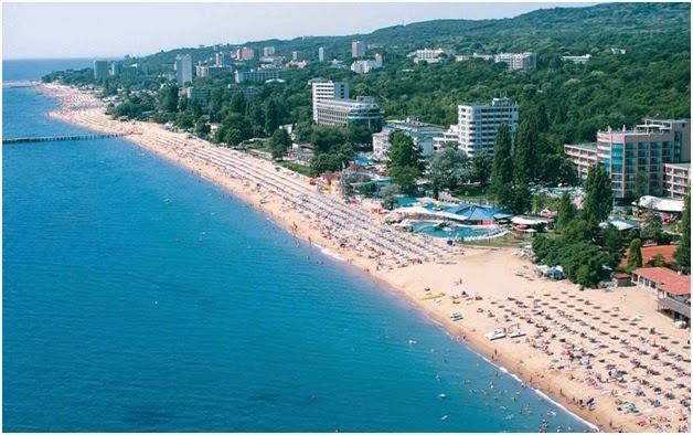 plaja Sunny Beach - Bulgaria