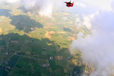 St. Peter-Ording: Fotos eines Tandem-Fallschirmabsprunges über dem ordinger Strand 21