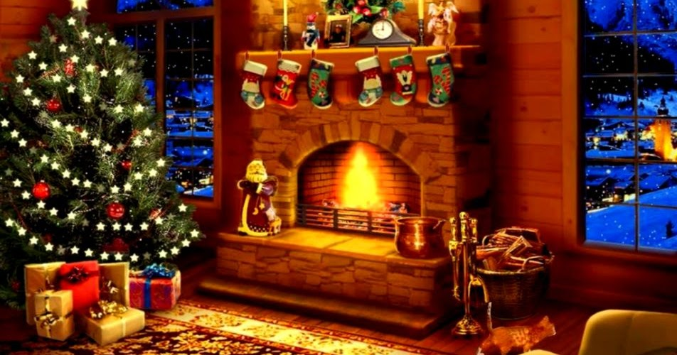 Christmas Decorated Fireplace Screensaver : Christmas screensaver all hd wallpapers