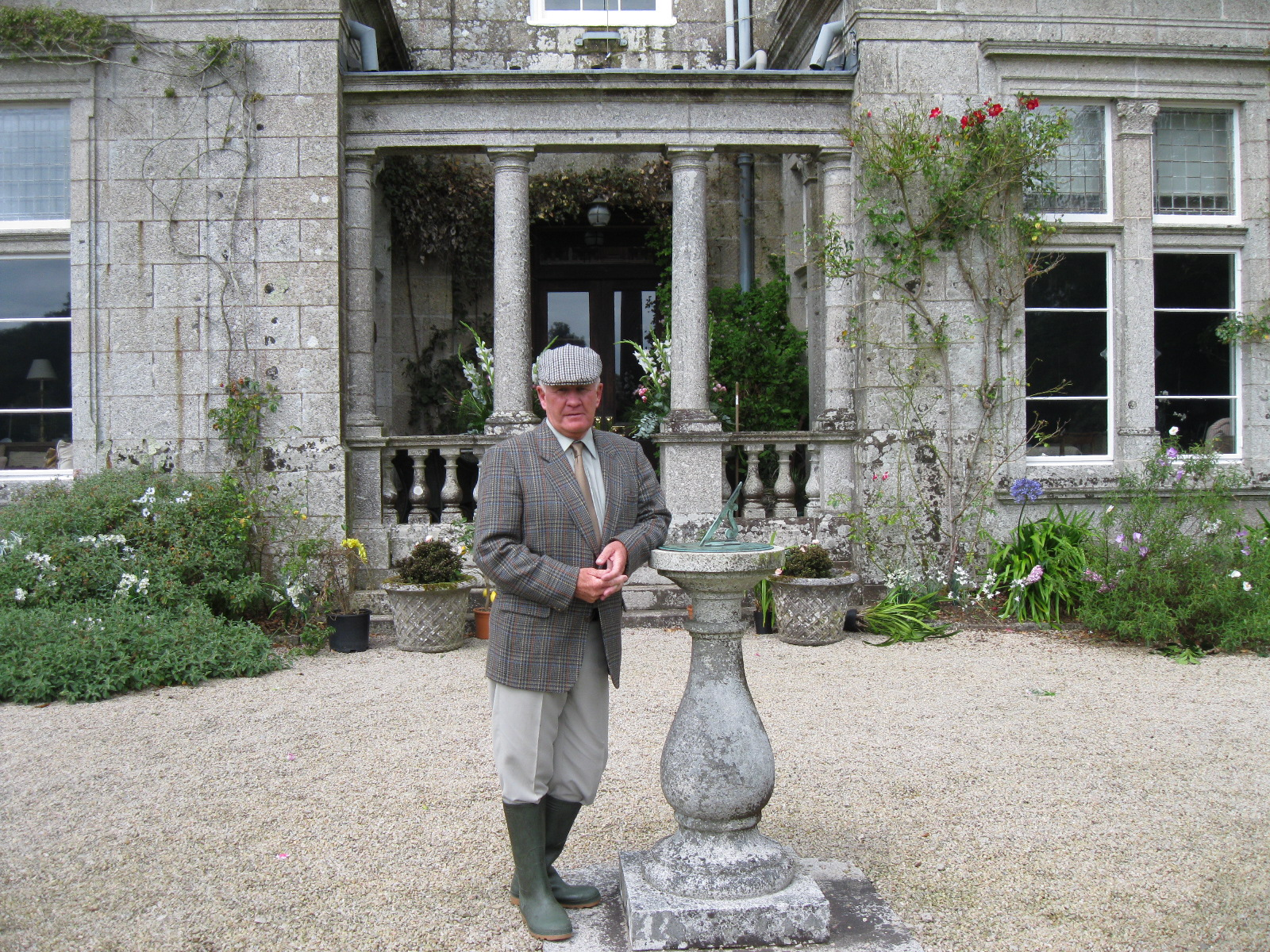 """""""Landed Gentry  in  """"A Question of Honour"""" - shot in Penzance Cornwall"""
