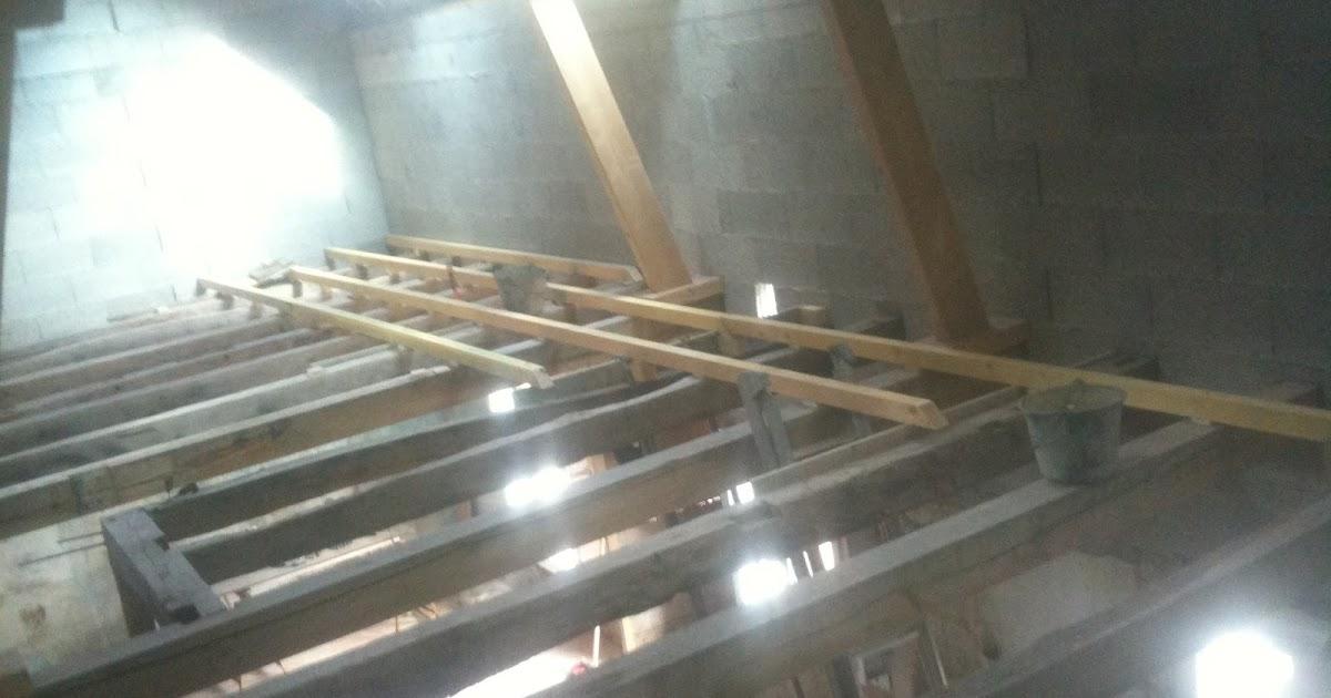 Rénovation d'une long u00e8re en Touraine Plancherétage et isolation des combles # Isolation Plancher Bois Étage