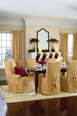 Sure Fit Slipcovers: Home For The Holidays