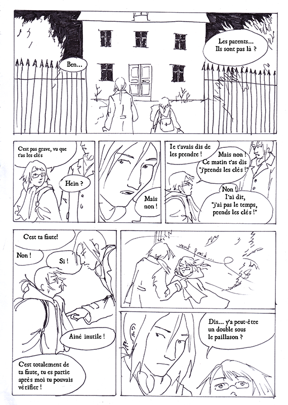 Les Clefs de chez soi, page 4 (Astate)