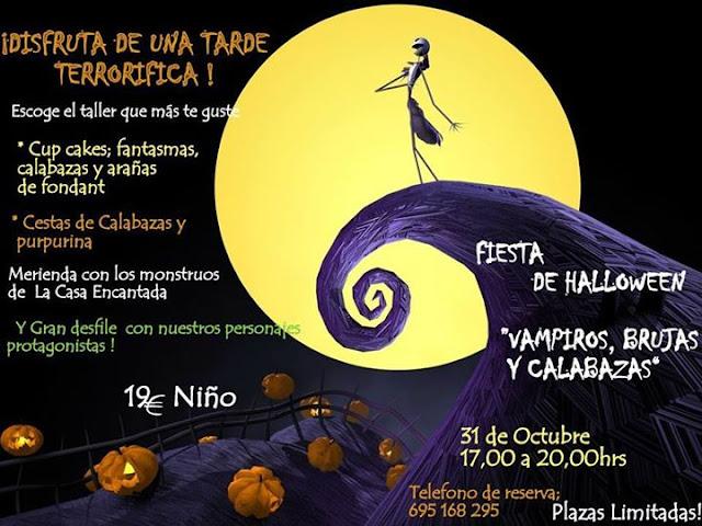 Fiesta de Halloween en La Casa Encantada de Torrelavega