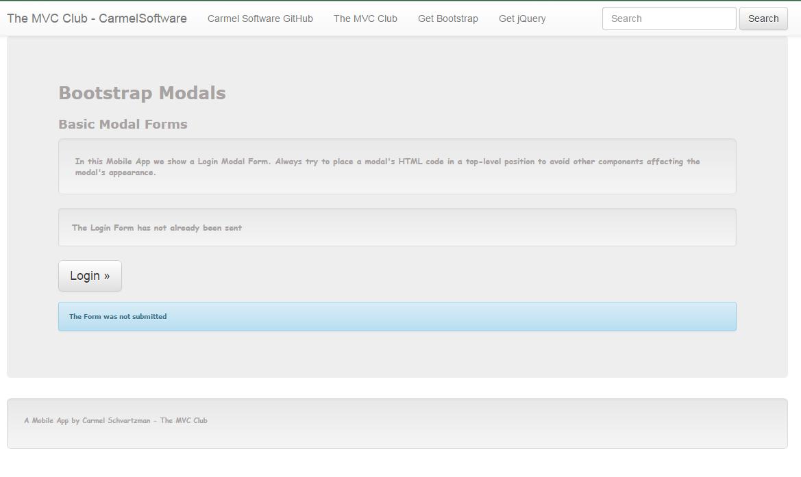 The asp mvc club bootstrap tutorial lesson 6 responsive modal lesson 6 responsive modal windows falaconquin