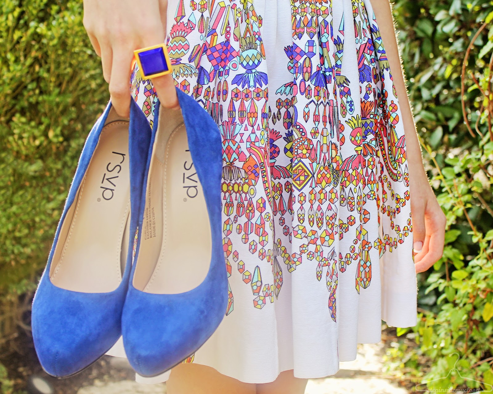 Step Inside My Closet - Spread the Sparkle - Kenneth Jay Lane, MSGM, Oscar De La Renta, rsvp, Zappos