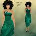 GLITTERATI - GREEN DRESS