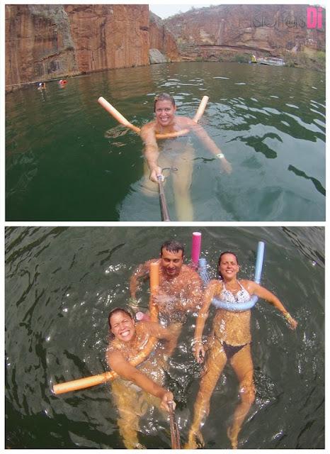 Muita diversão nas águas do Velho Chico