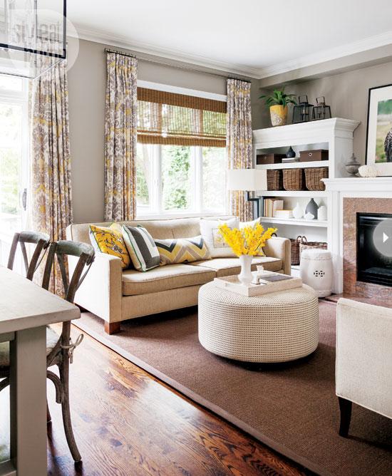 Escape Gray Living Room: A Life's Design: Causal Comfort