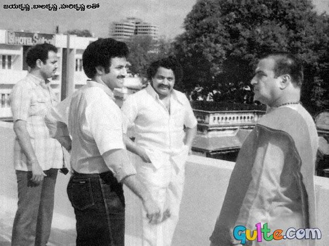 Balakrishna, Bala Krishna, NTR, Hari Krishna, nandamuri family rare ...