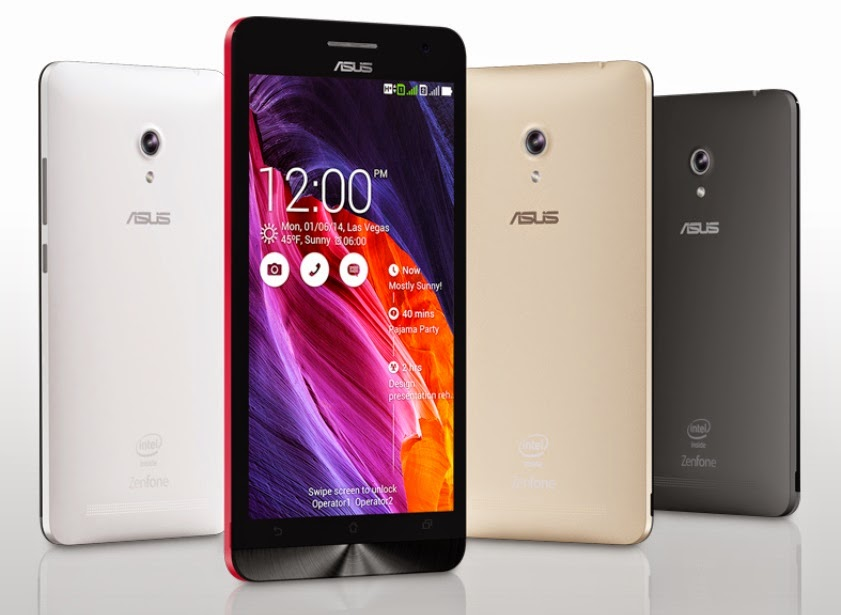 Bermacam Pilihan Warna Smartphone ASUS ZenFone 4,5 Dan 6