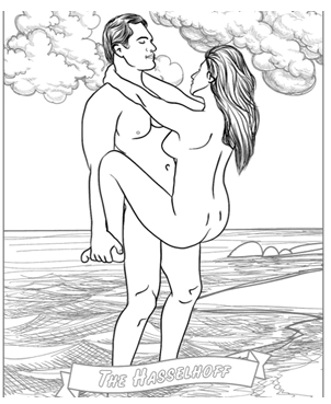 funny naughty sexy coloring books adults