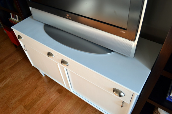 Media Console After