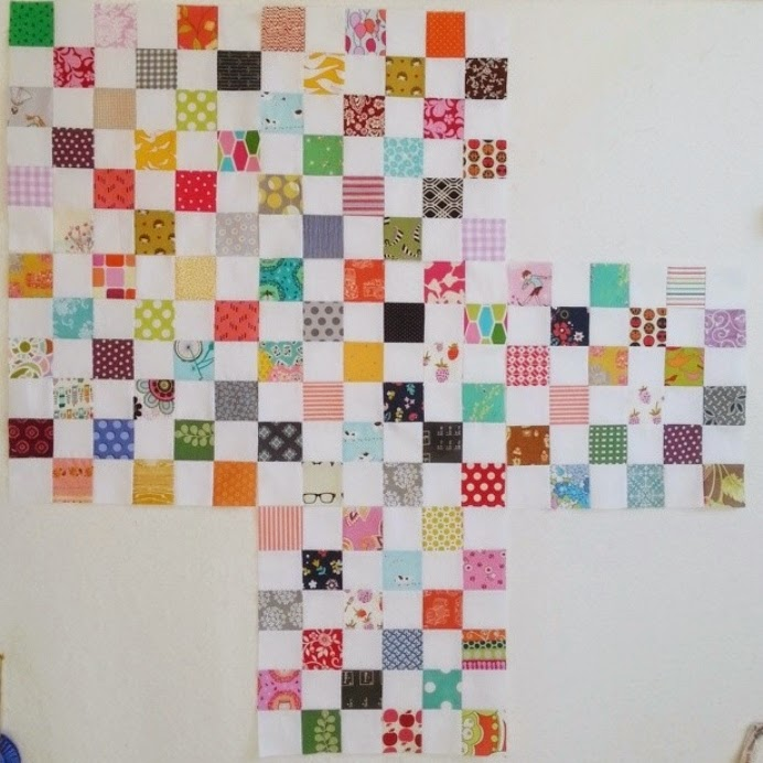 Postage Stamp Quilt Squares