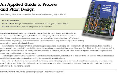 Sean Moran Process Design Plant Design Book Review