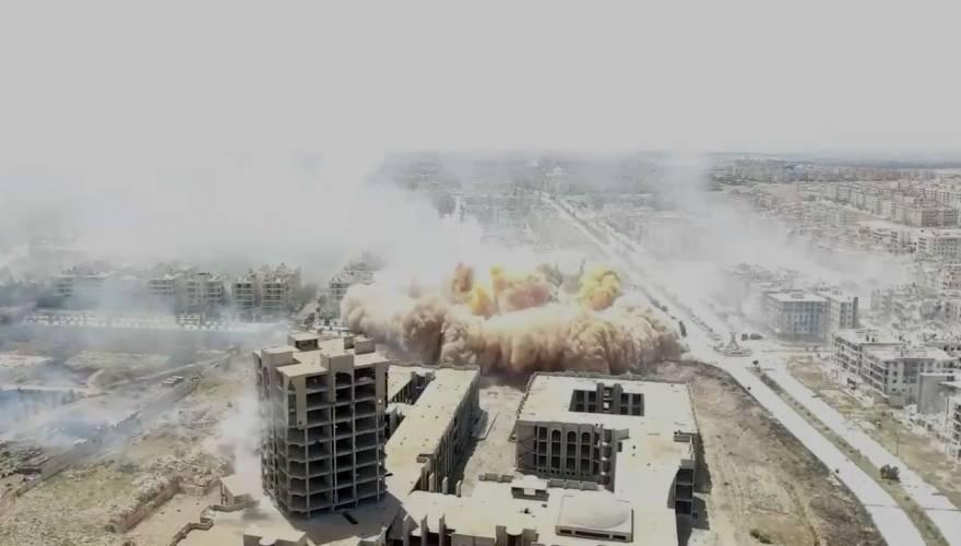 Τρομερό βίντεο: Οι ισλαμιστές επιτέθηκαν αιφνιδιαστικά στο δυτικό Χαλέπι και ισοπέδωσαν μια ολόκληρη συνοικία