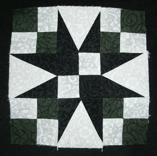 Kim s Northwoods Discoveries: 54-40 or Fight - Wisconsin Quilt Blocks on Barns, Block of the Week