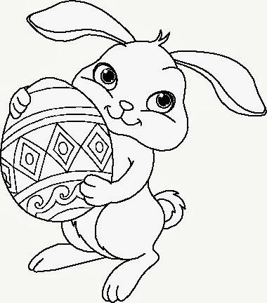 Banco de Imagenes y fotos gratis Huevos de Pascua para Colorear