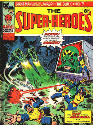 Marvel UK, Super-Heroes #38, X-Men