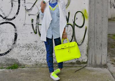 Neon Fashion - Sharp Color Fashion Collection