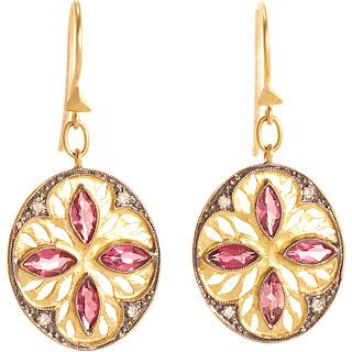 earrings, tourmaline earrings, jewelry