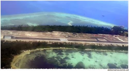 Lapangan Terbang di Maldives Hanya 2 Meter Dari Paras Laut.