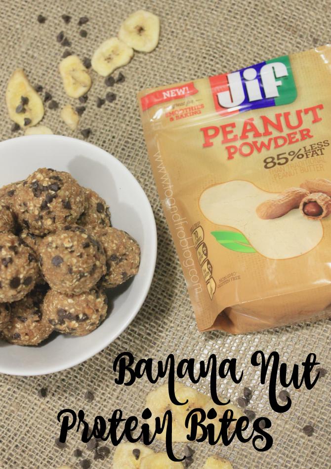 Banana Nut Protein Bites