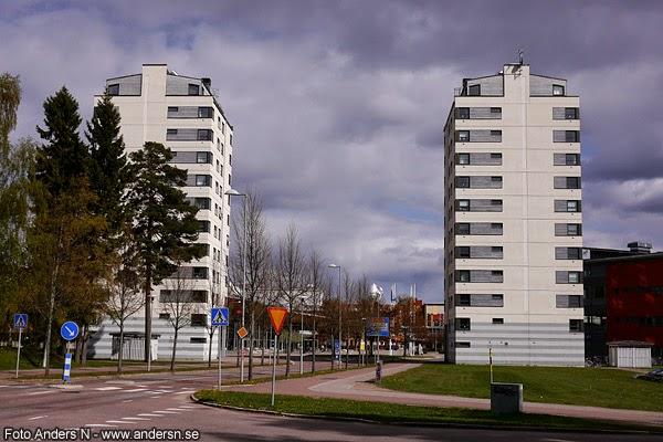 Karlstad universitet, Karlstads, universitetet, höghus, höghusen