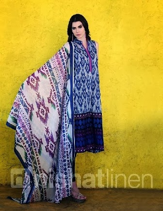 Nishat Linen Lawn Summer Collection
