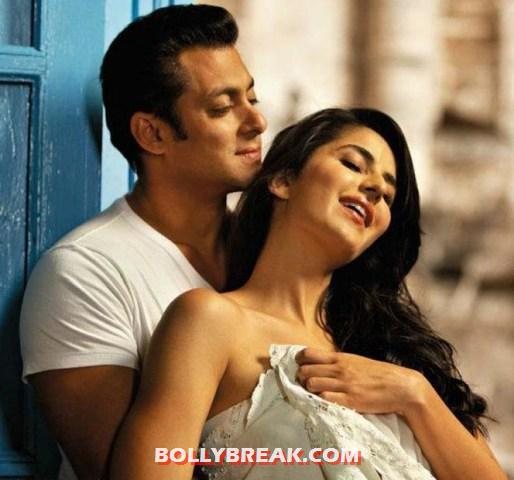 Salman khan katrina kaif ek tha tiger - Salman Khan- romancing his heroines