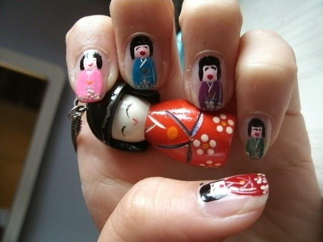 Lifestyle Shira Nail Art Chinese Poppetjes