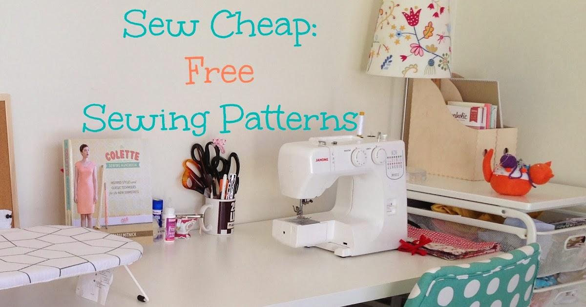 Sewn By Elizabeth: Sew Cheap: Free Patterns