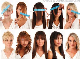 Come tagliare capelli a v
