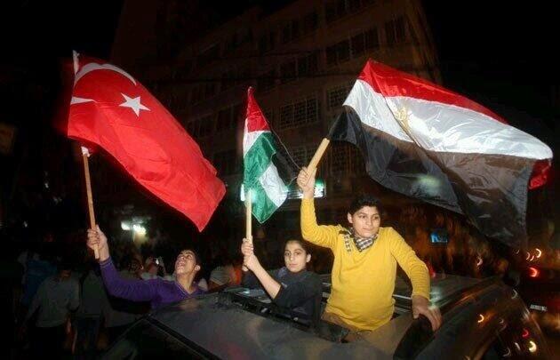 Gaza rayakan kemenangan AKP
