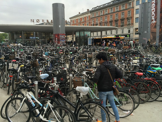 wisata, traveling, copenhagen, denmark, sepeda