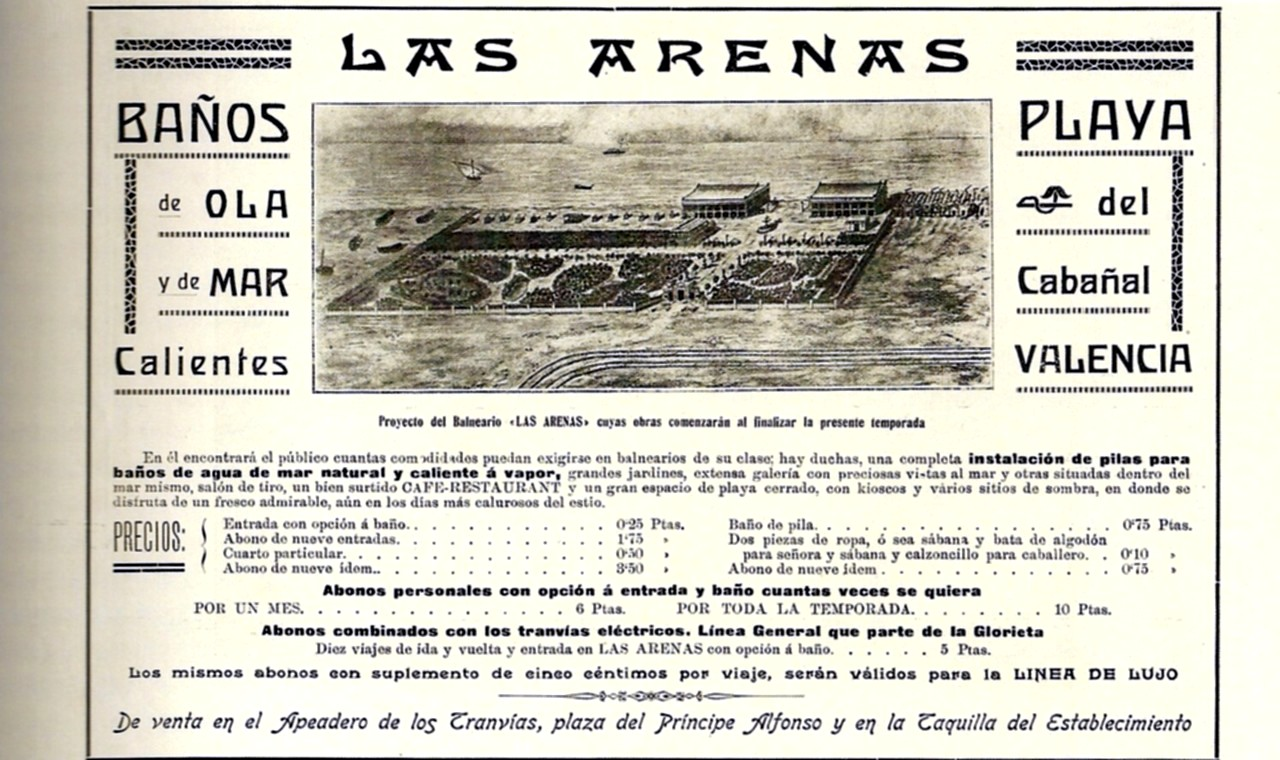 Balneario Baño Grande En Mixquiahuala:Memoria gráfica de España: Valencia (Anuncio)