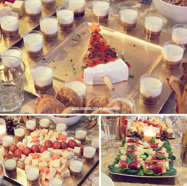 aperitivo fiesta navida
