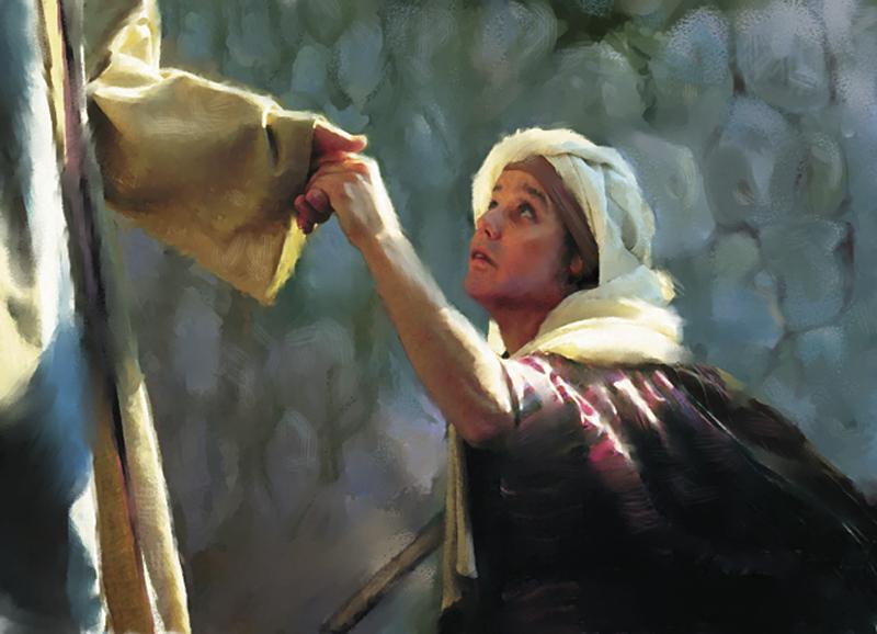 Menyentuh Yesus